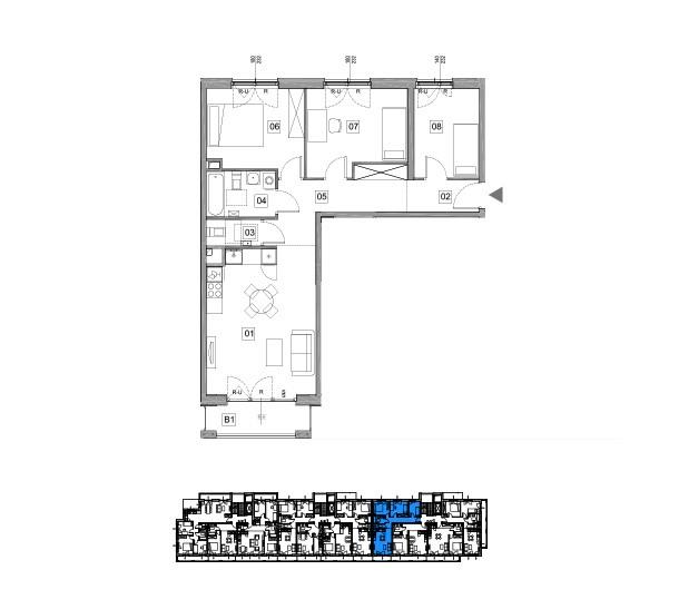 mieszkanie 4 pokoje warszawa